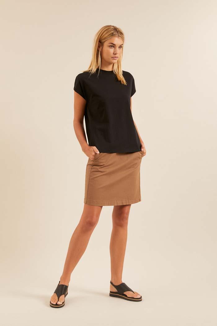 Dames T-shirt duurzaam zwart_Lanius12452zwart_geheel