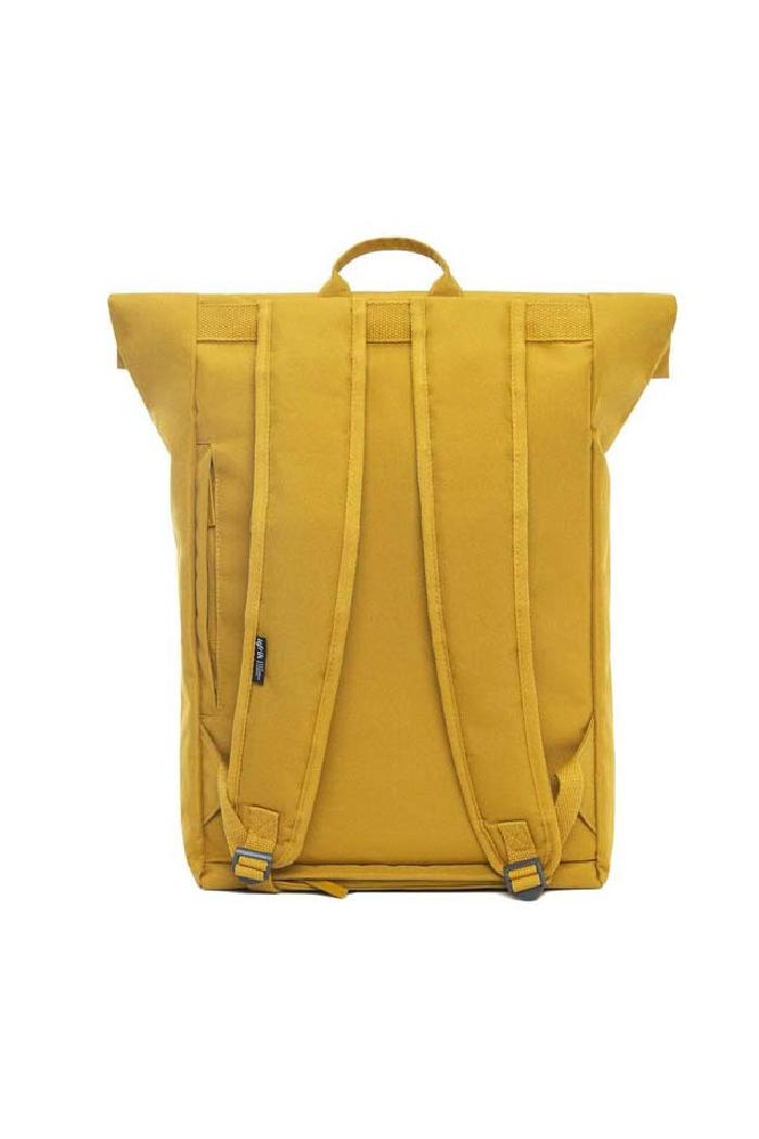 Rugtas Lefrik Roll - mustard_packshotback