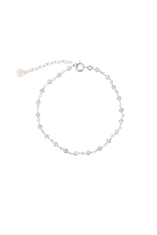 Armband A Beautiful Story_labradorite silver_voor