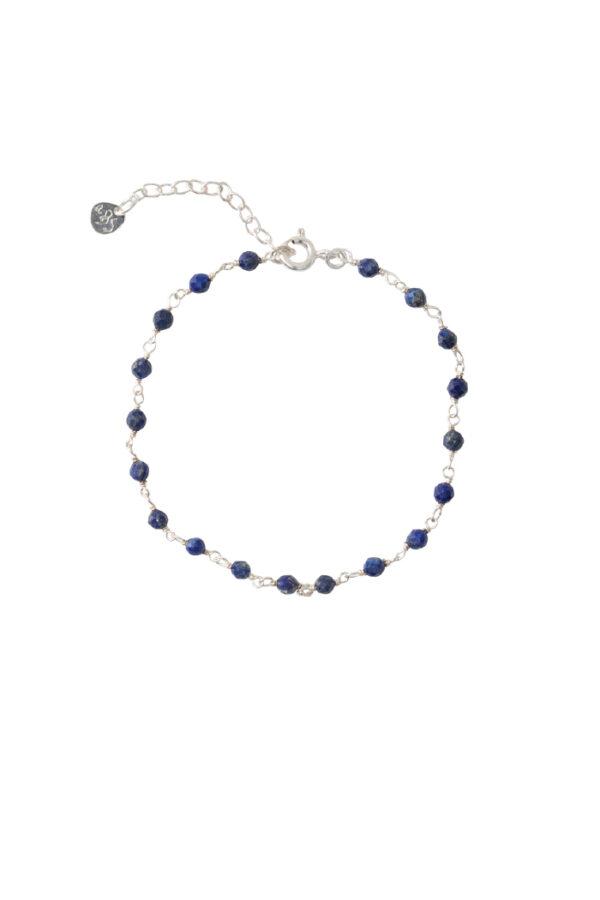 Armband A Beautiful Story_lapis lazuli silver_voor