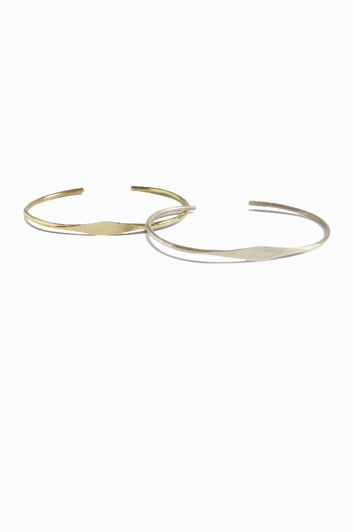 Duurzame armbanden_TING_messing_zilver