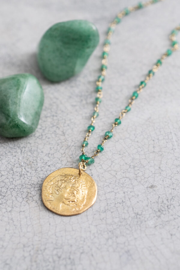 Ketting Rosary_A Beautiful Story_Aventurine gold_steen