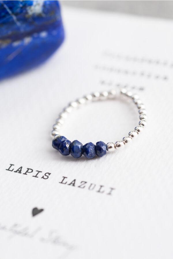 Ring A Beautiful Story_lapis lazuli silver_steen