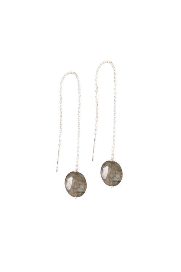 Oorbellen Elegant_A Beautiful Story_Labradorite silver