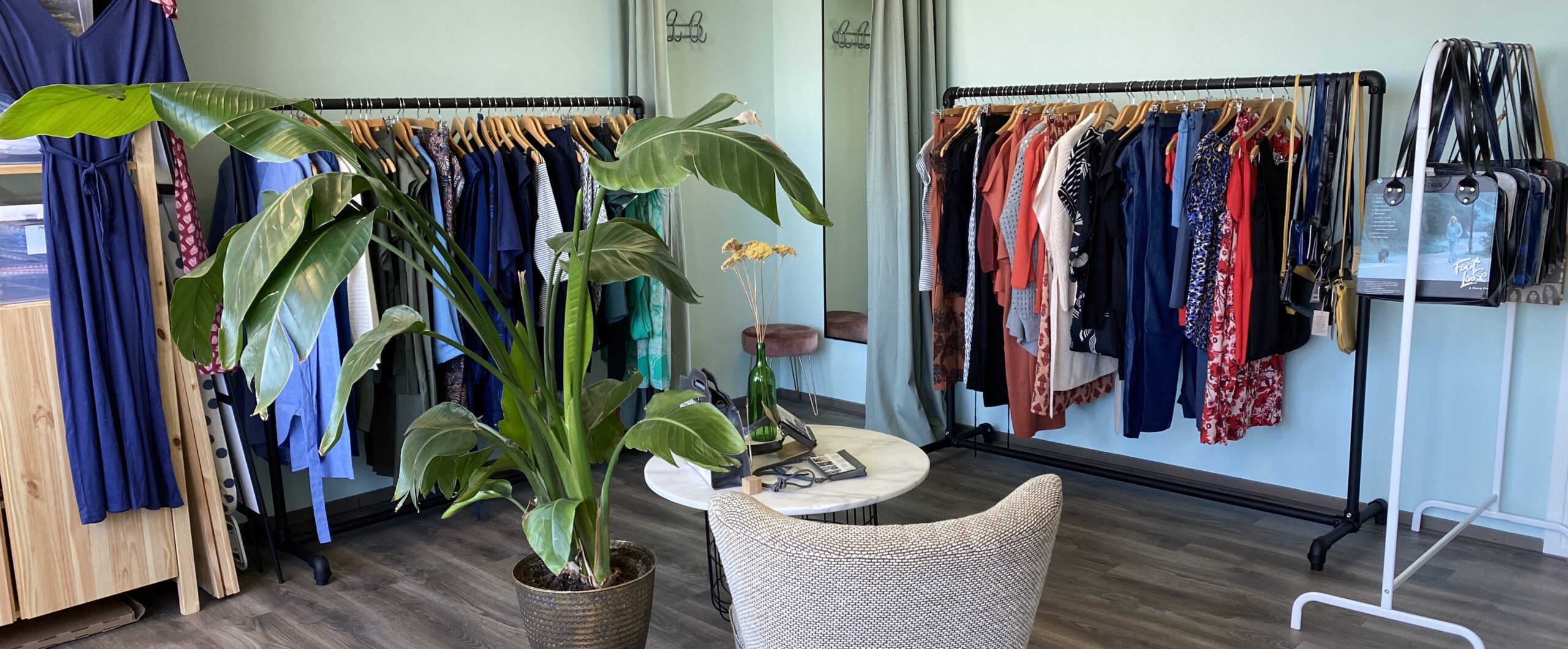 Duurzame kledingwinkel showroom Utrecht