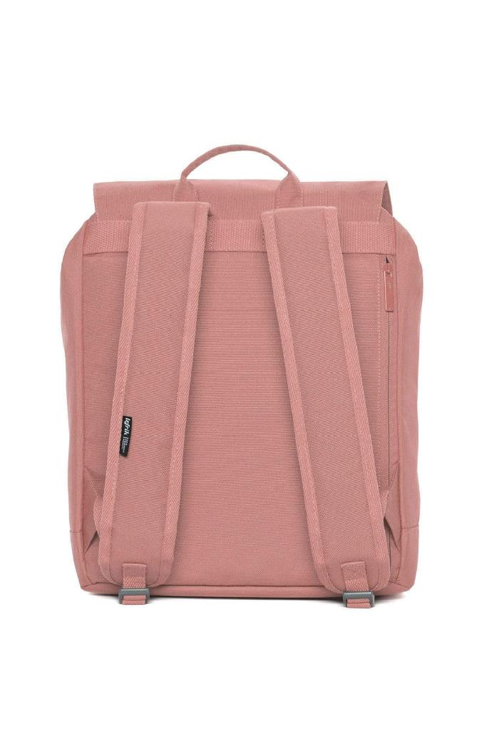 Rugtas Lefrik_scout dusty pink_achter