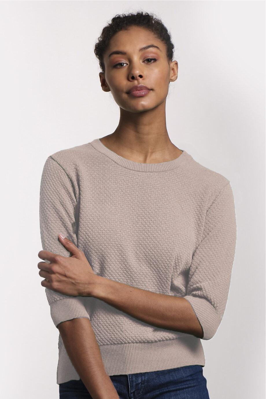 Summer Sweater_Loopalife_Nude_voor