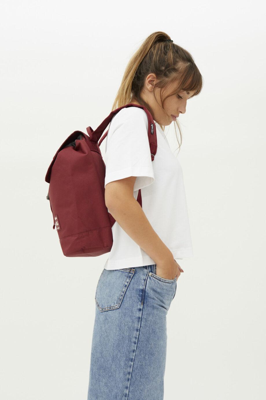 Duurzame tassen_Lefrik_Scout_Granate_model zij