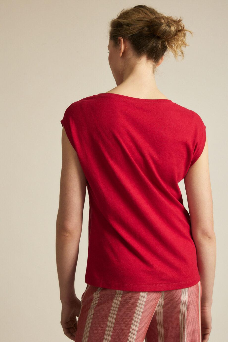 Lanius_Shirt doorlopende mouw_rood chili pepper_achter