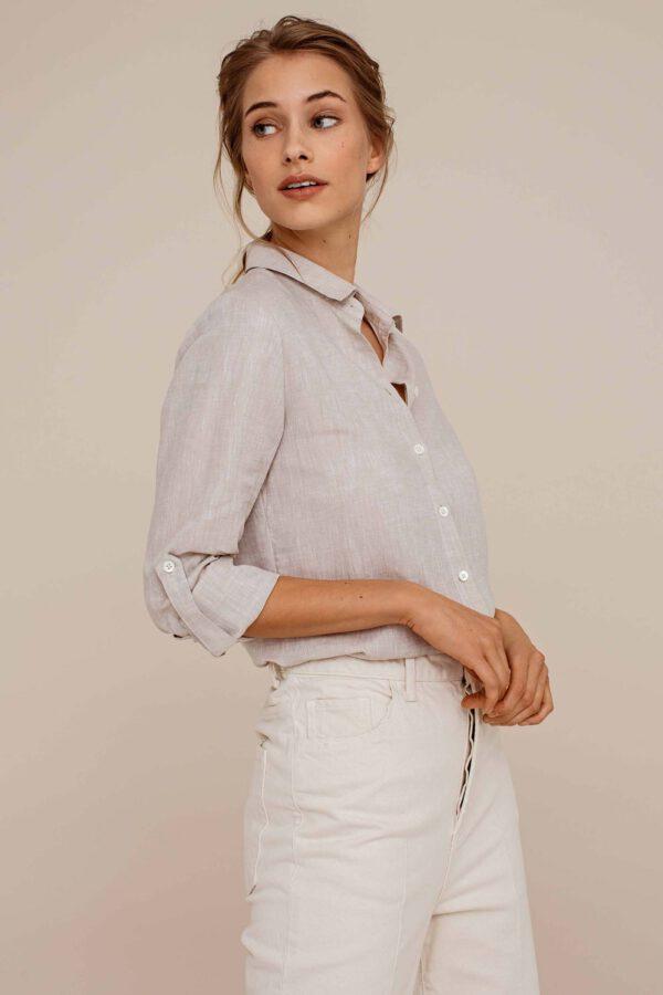 Arber Elm blouse Sand_model