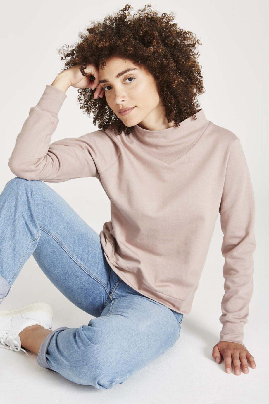 GIVN Vivian Muddy pink_zit