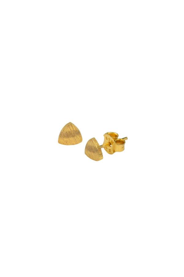 Duurzame sieraden_Protsaah Trillion Stud gold
