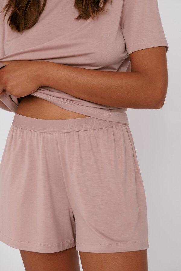 Organic Basics - shorts – oud roze_fit