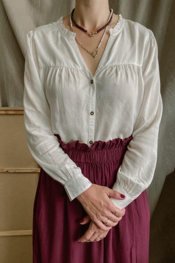 JLabel - Blouse Safia - off-white_top