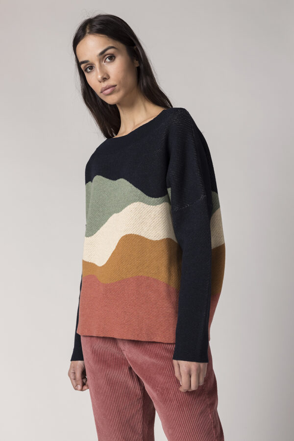 SKFK - Trui Karle - multicolor_model
