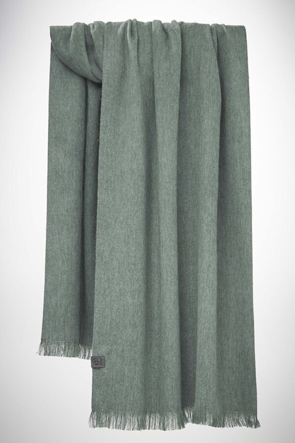 Bufandy Alpacasjaal Misty Sage_Brushed Solid_pack