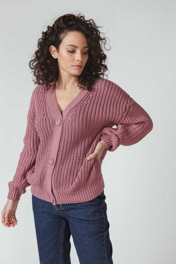 SKFK-Vest-Adane-roze-voor
